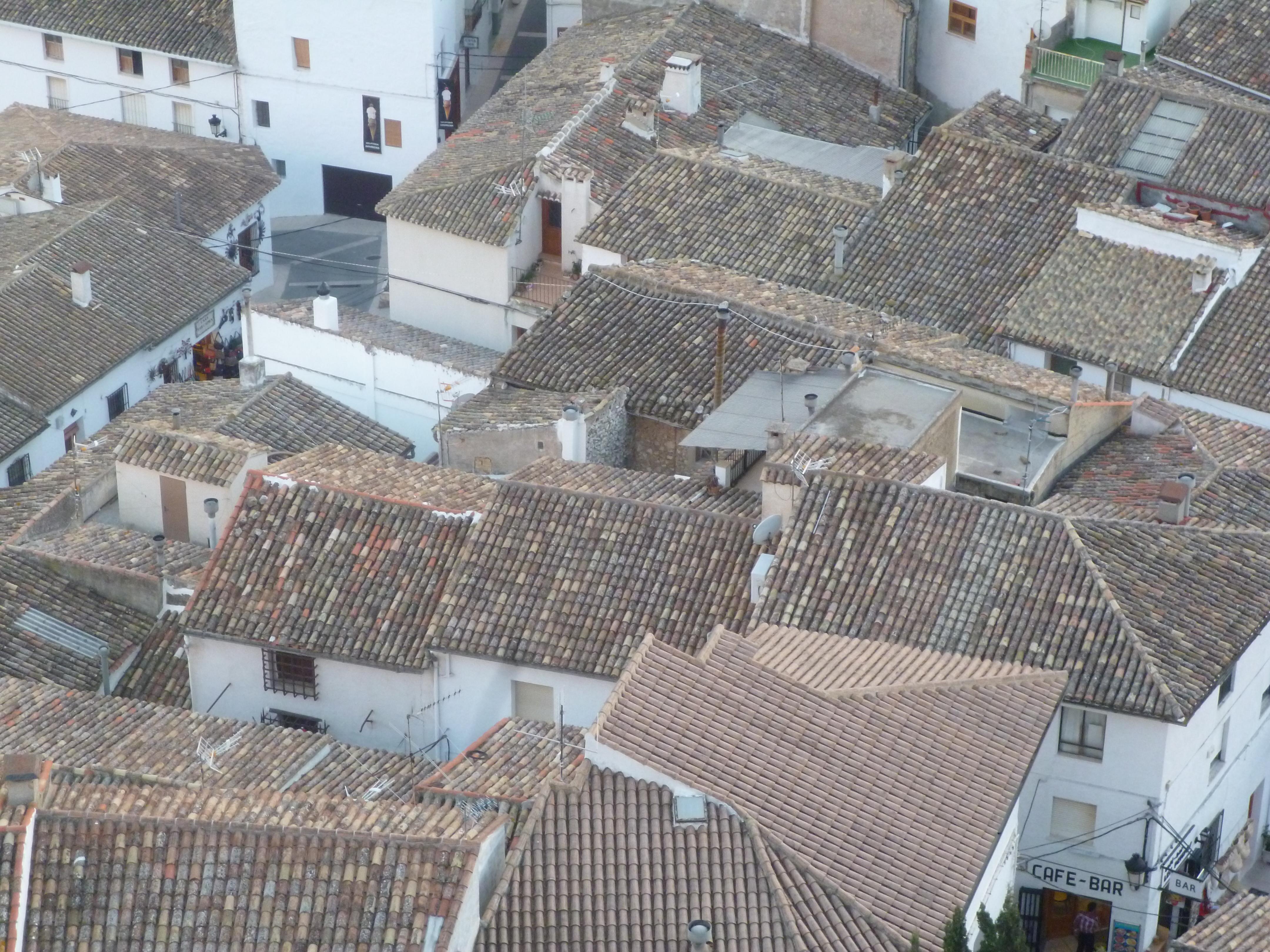 les toits de Guadalest