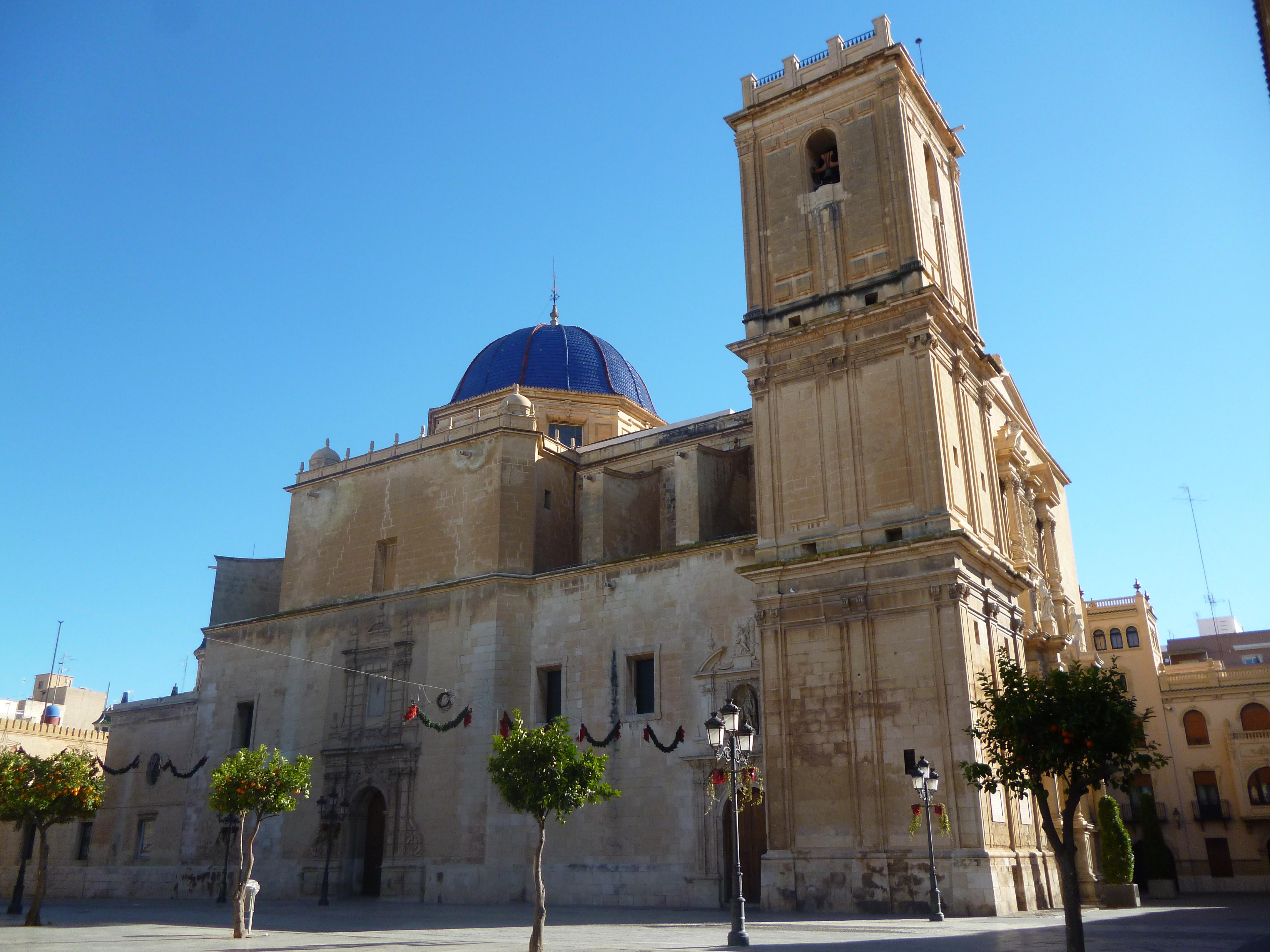 Basilica Sta Maria desrtée