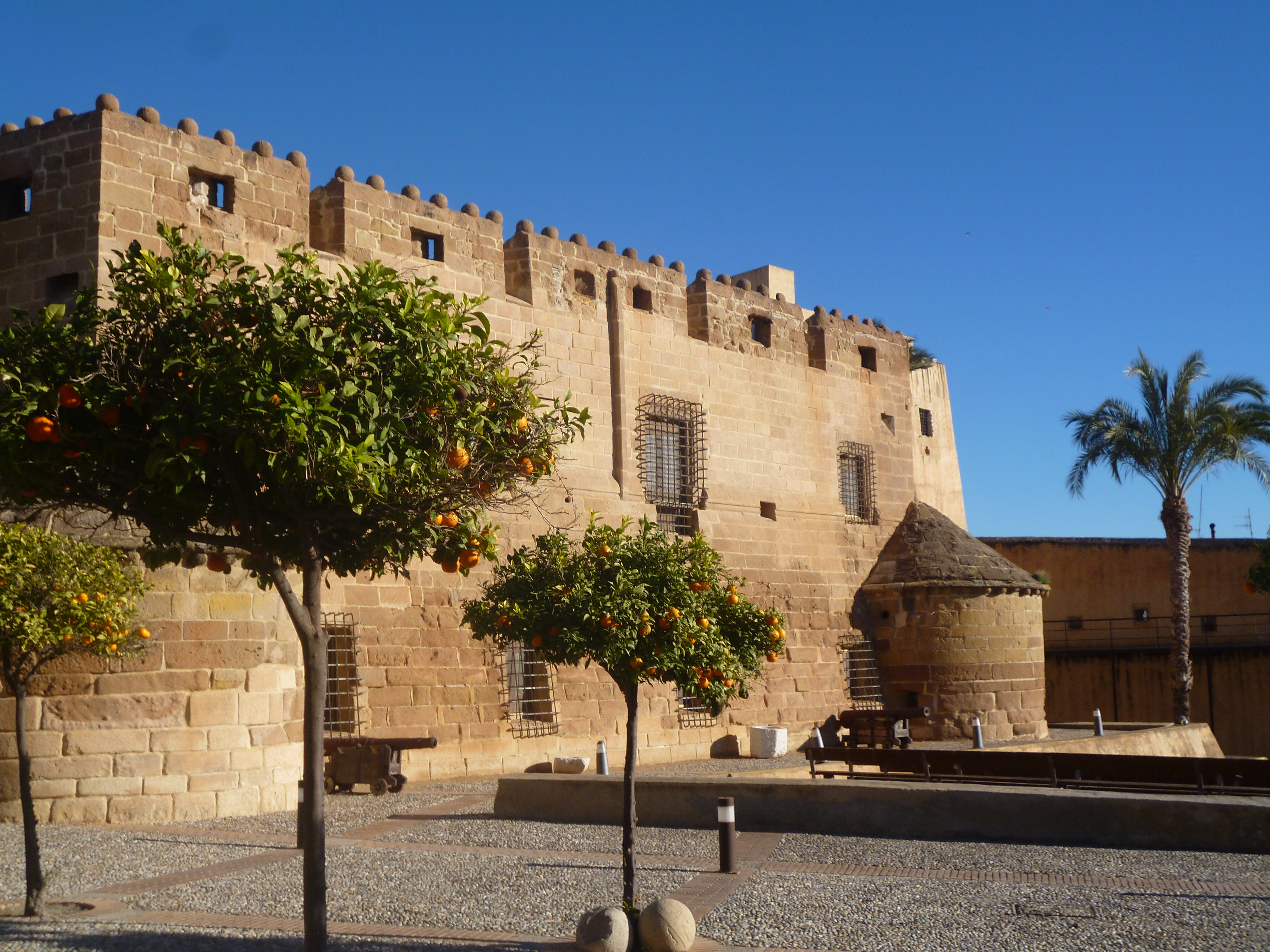 le castillo de Almanzora