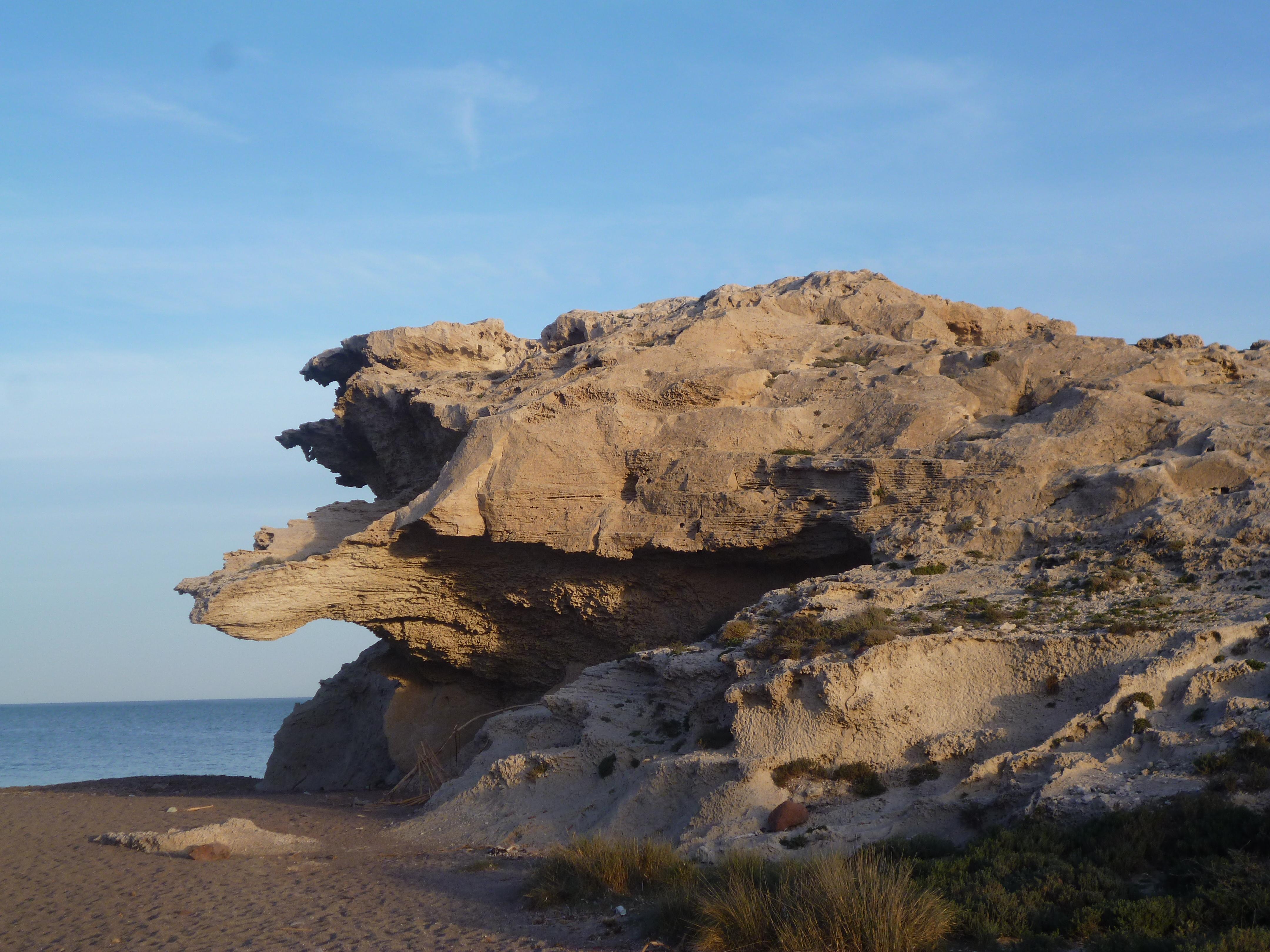 les fameuse dunes fossiles de Los Esculos