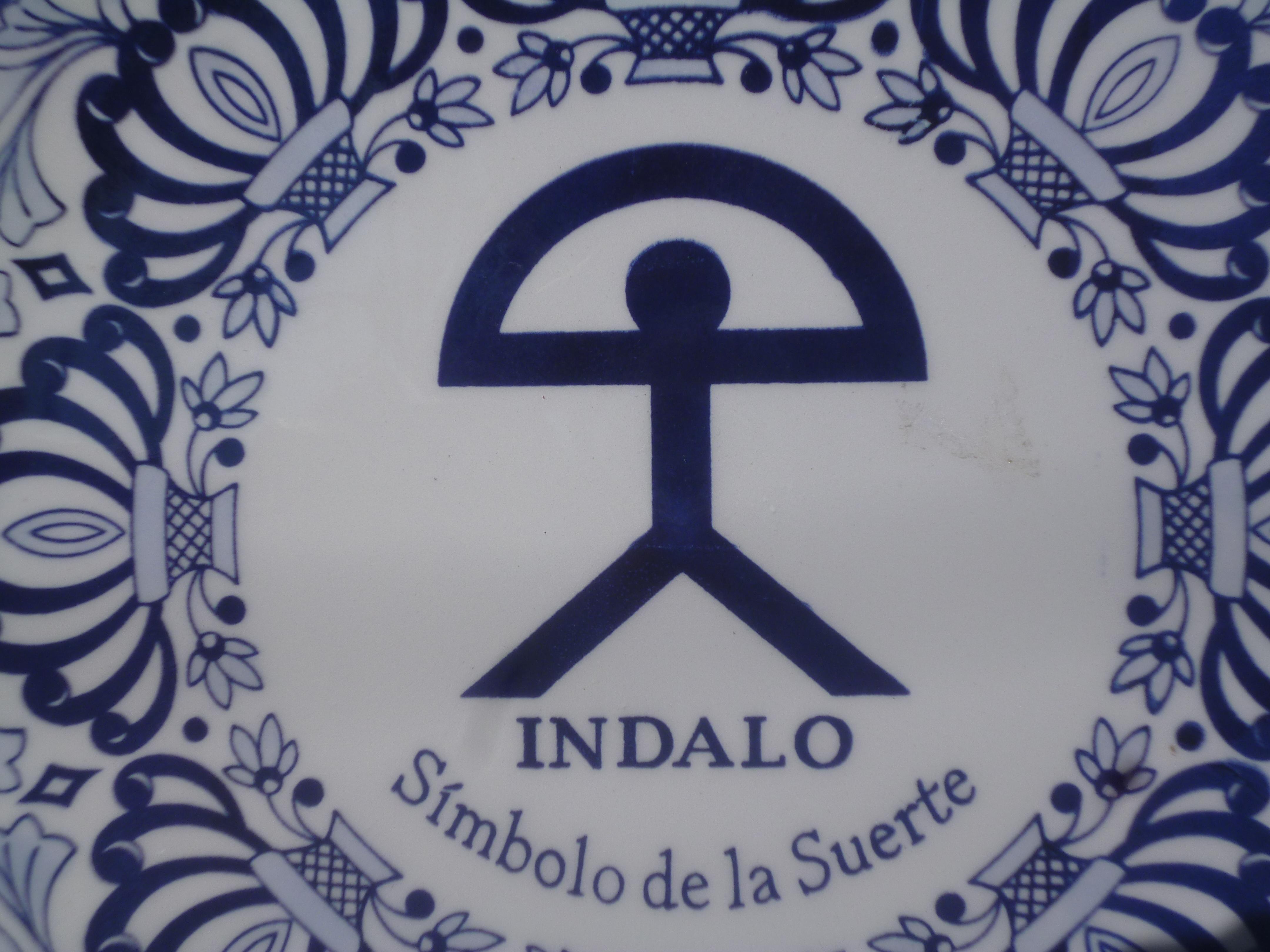l'Indalo chasse le mauvais sort