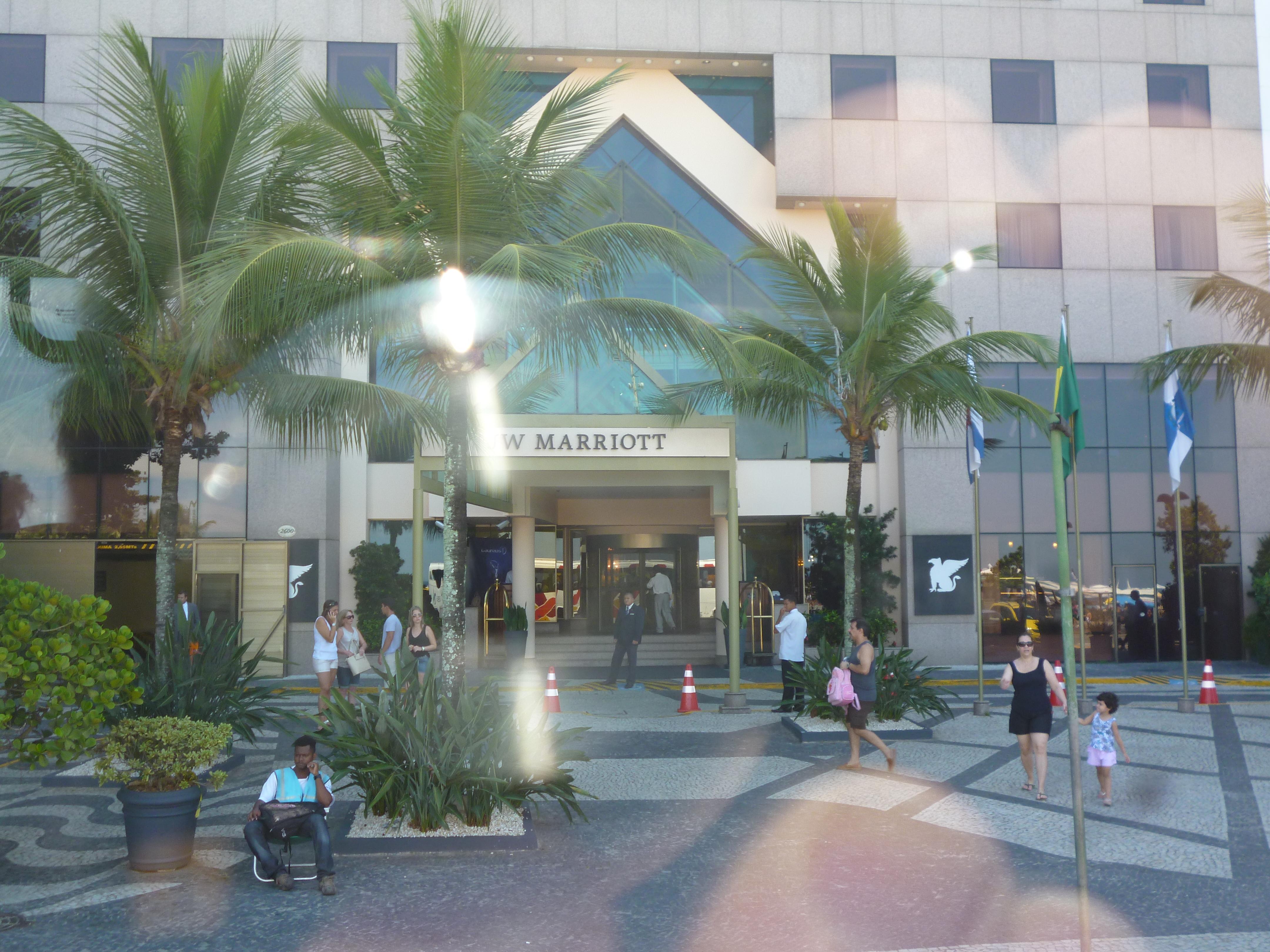 l'hotel Marriot le dimanche matin