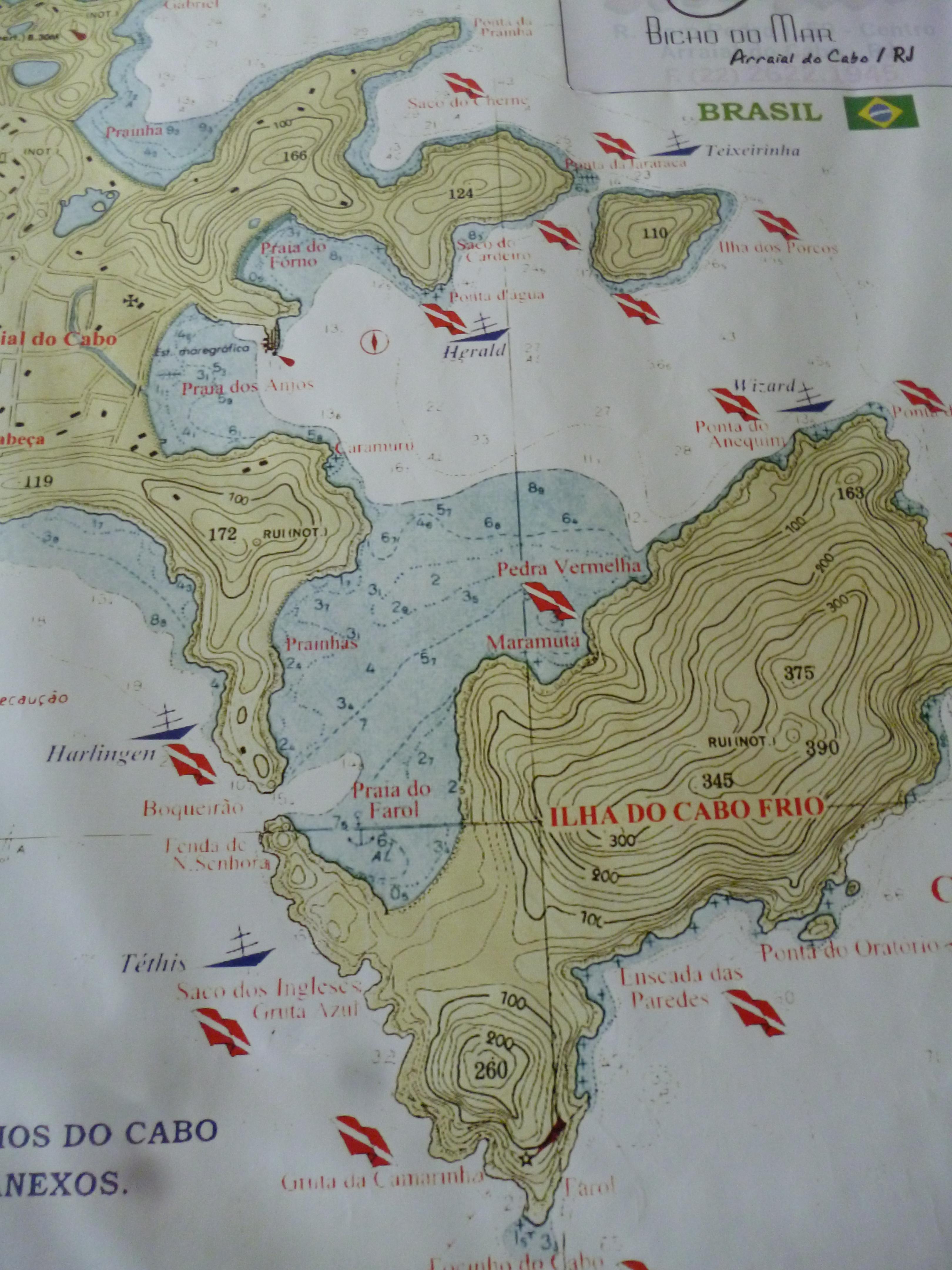 Carte de Cabo Frio
