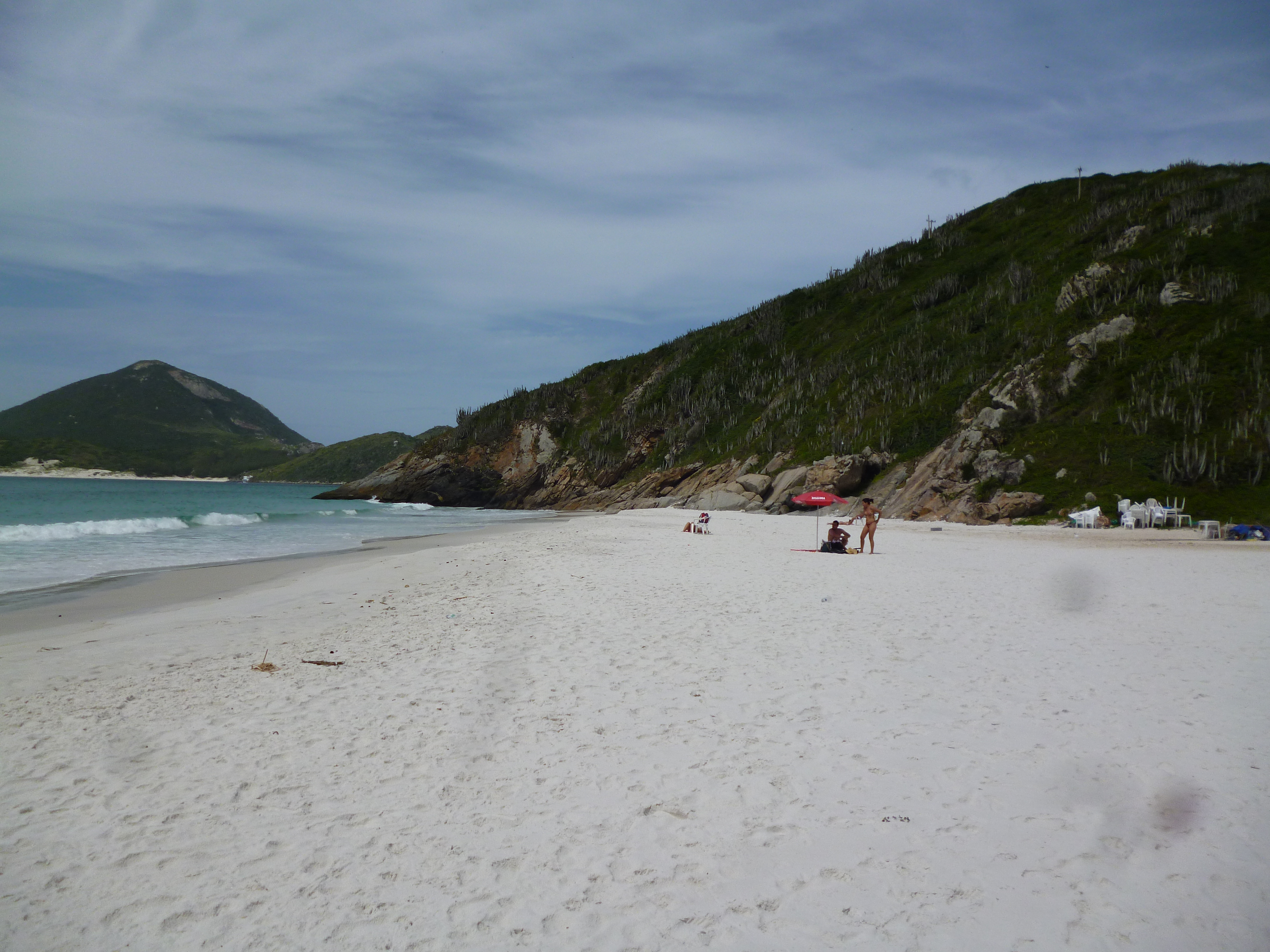 la prainha, la plage du sable qui chante