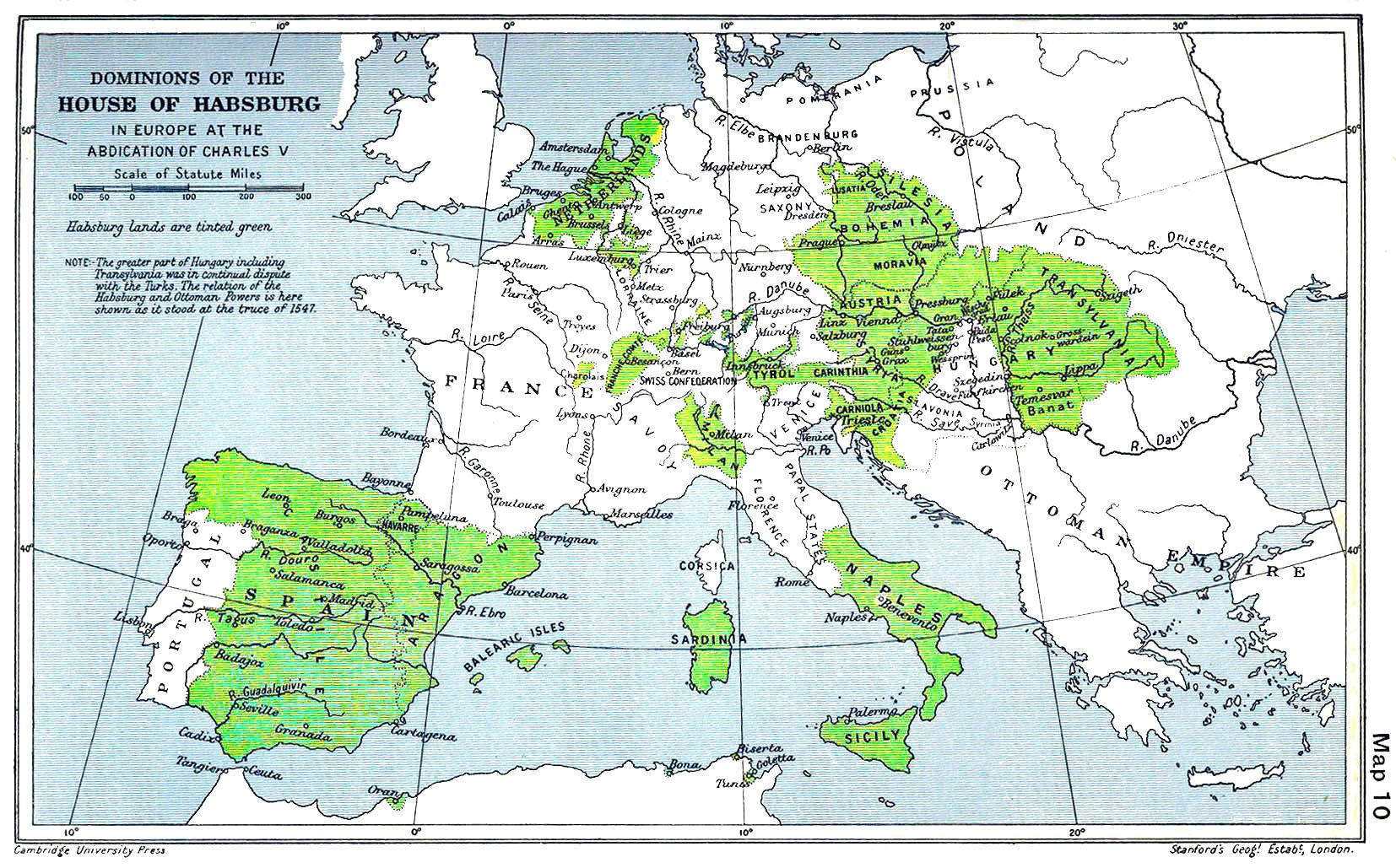l'Empire de Charles Quint