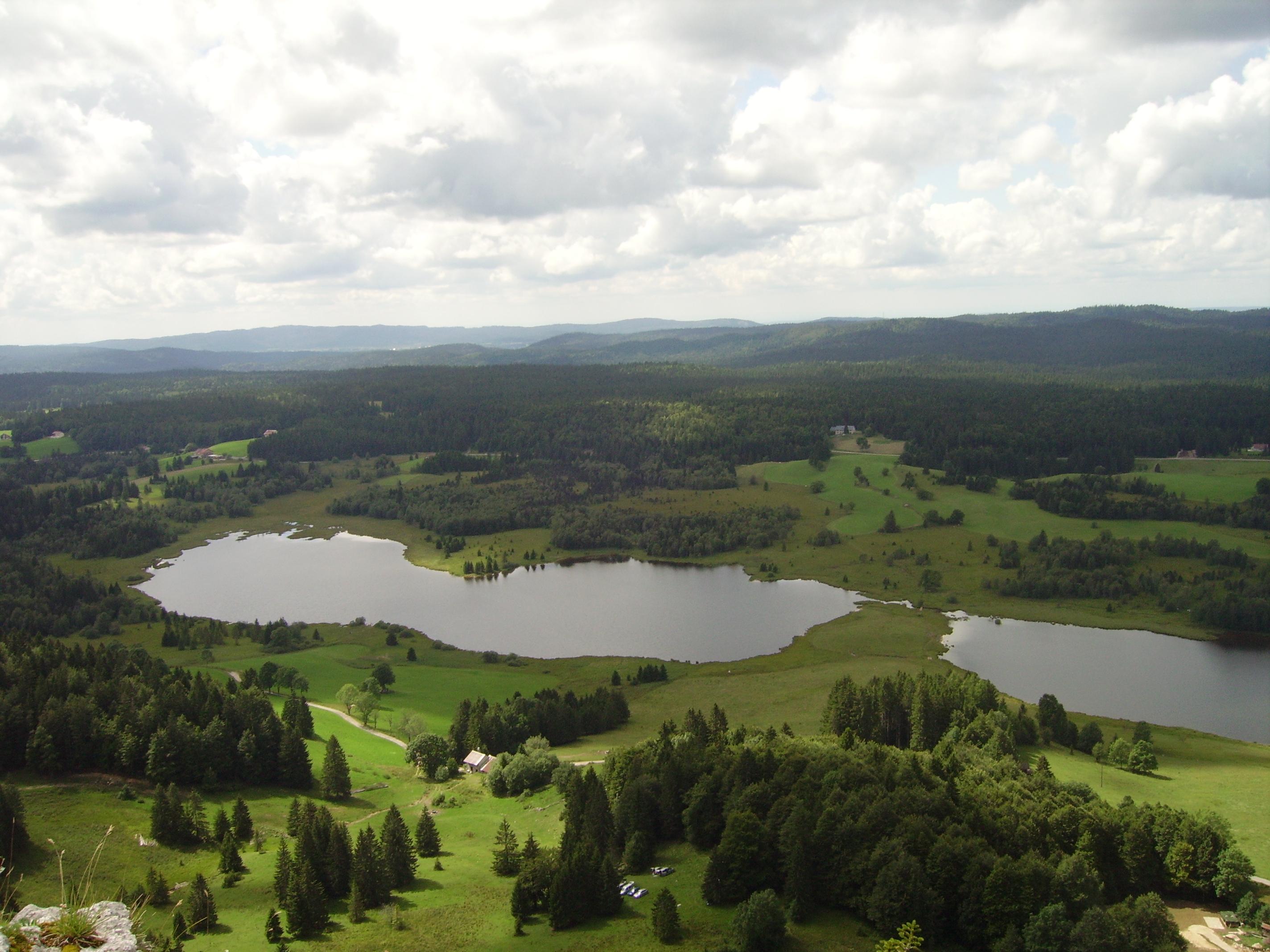 lac des Mortes vers Bellefontaine et Chapelle des Bois