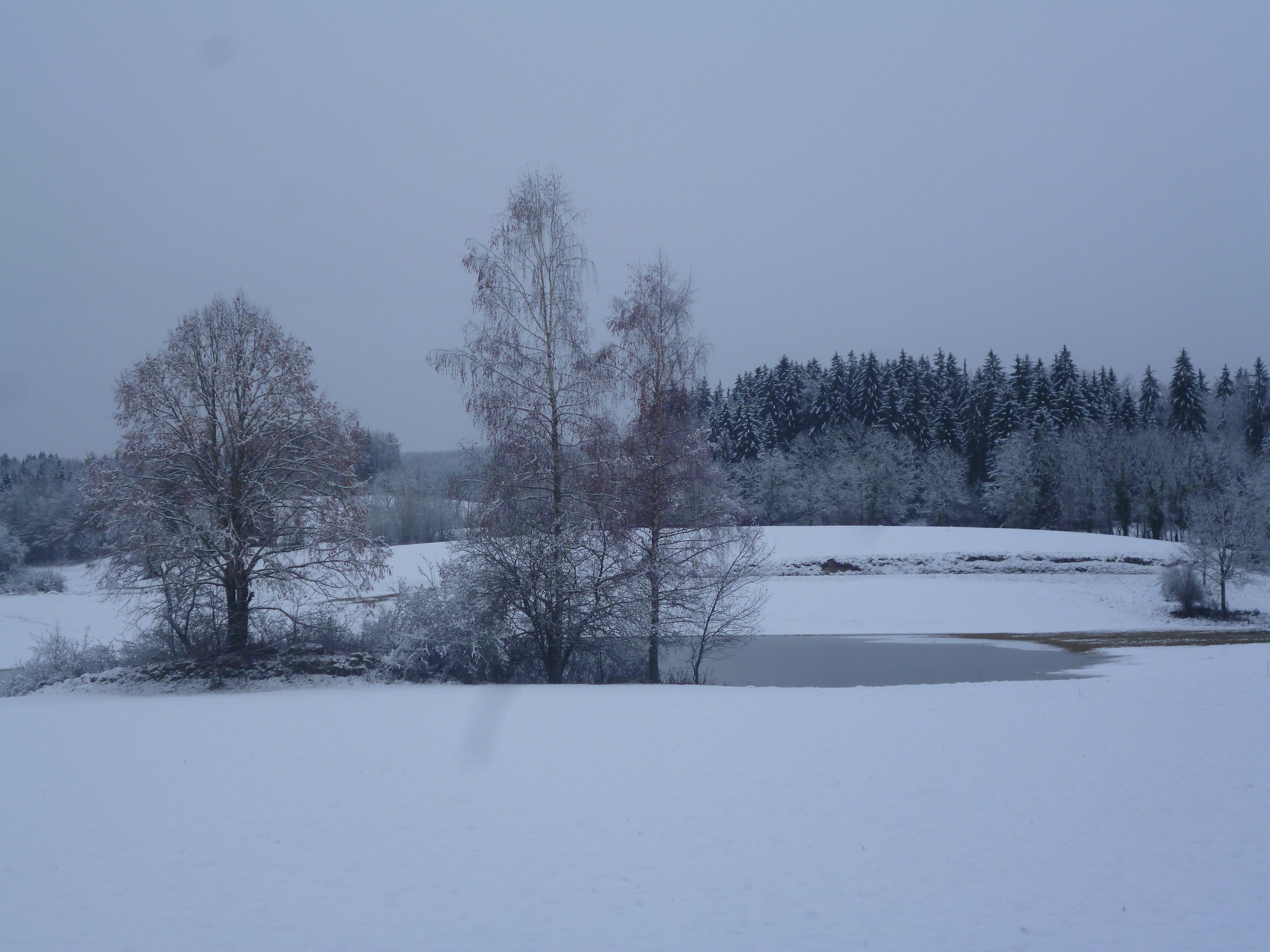 premières neiges fin novembre