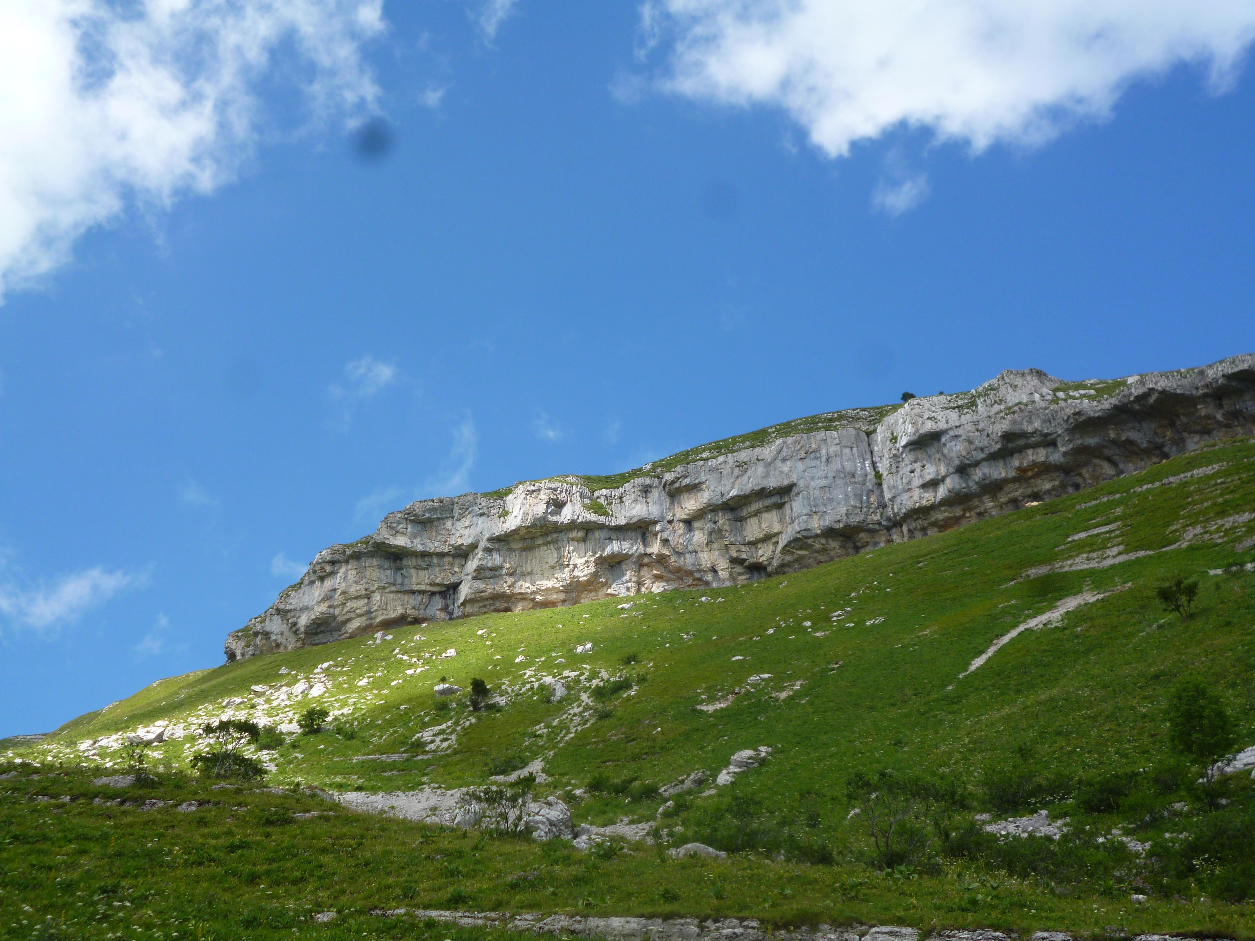 falaise calcaire de Dardenant