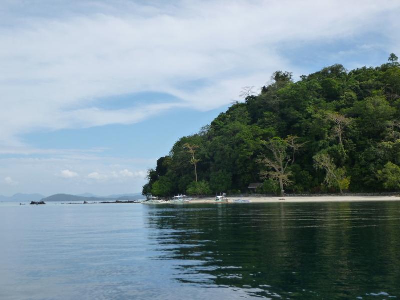exotic island et la plage de notre pique-nique