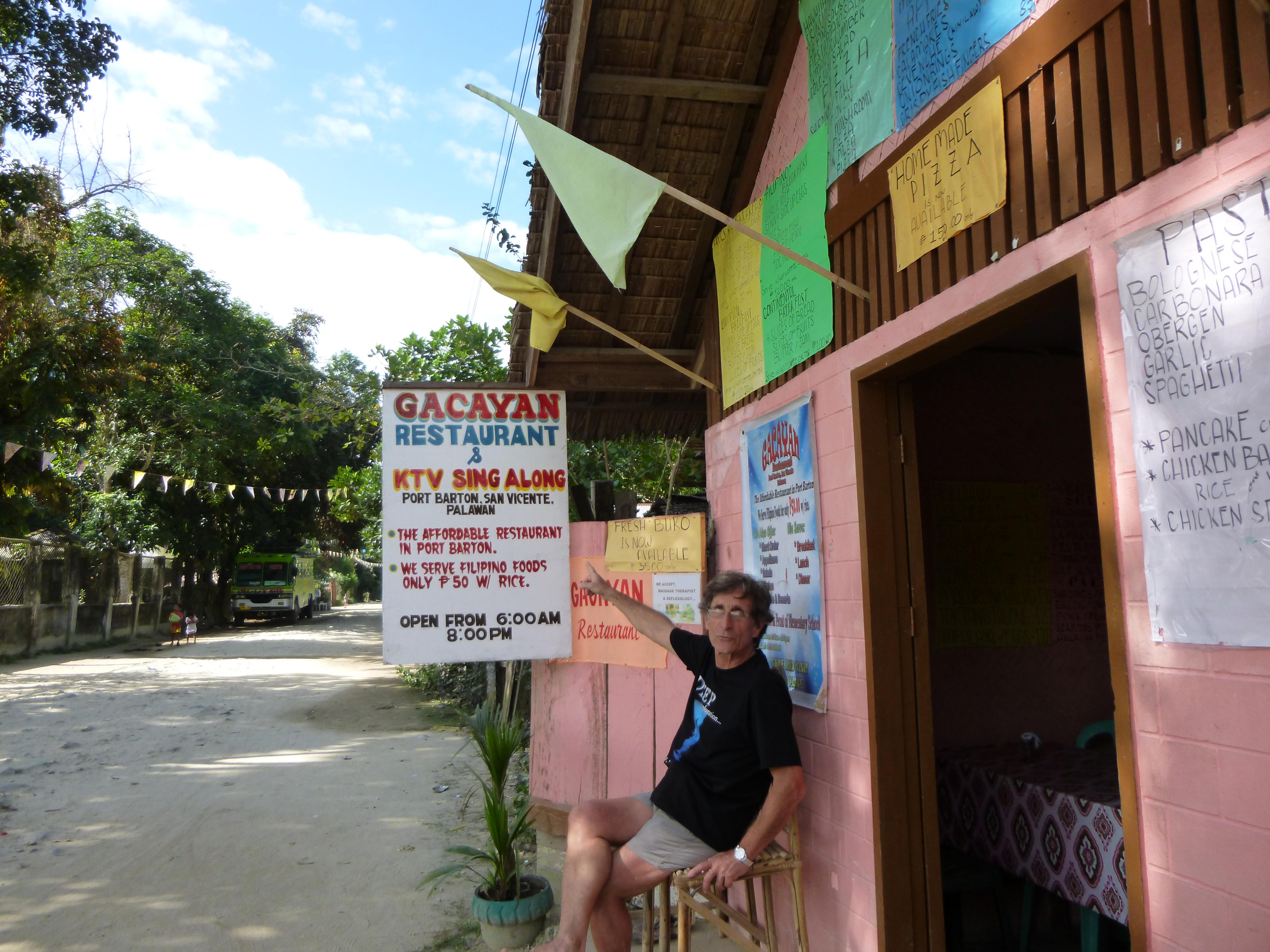 Gayacan, un des meilleurs restos filipins du coin