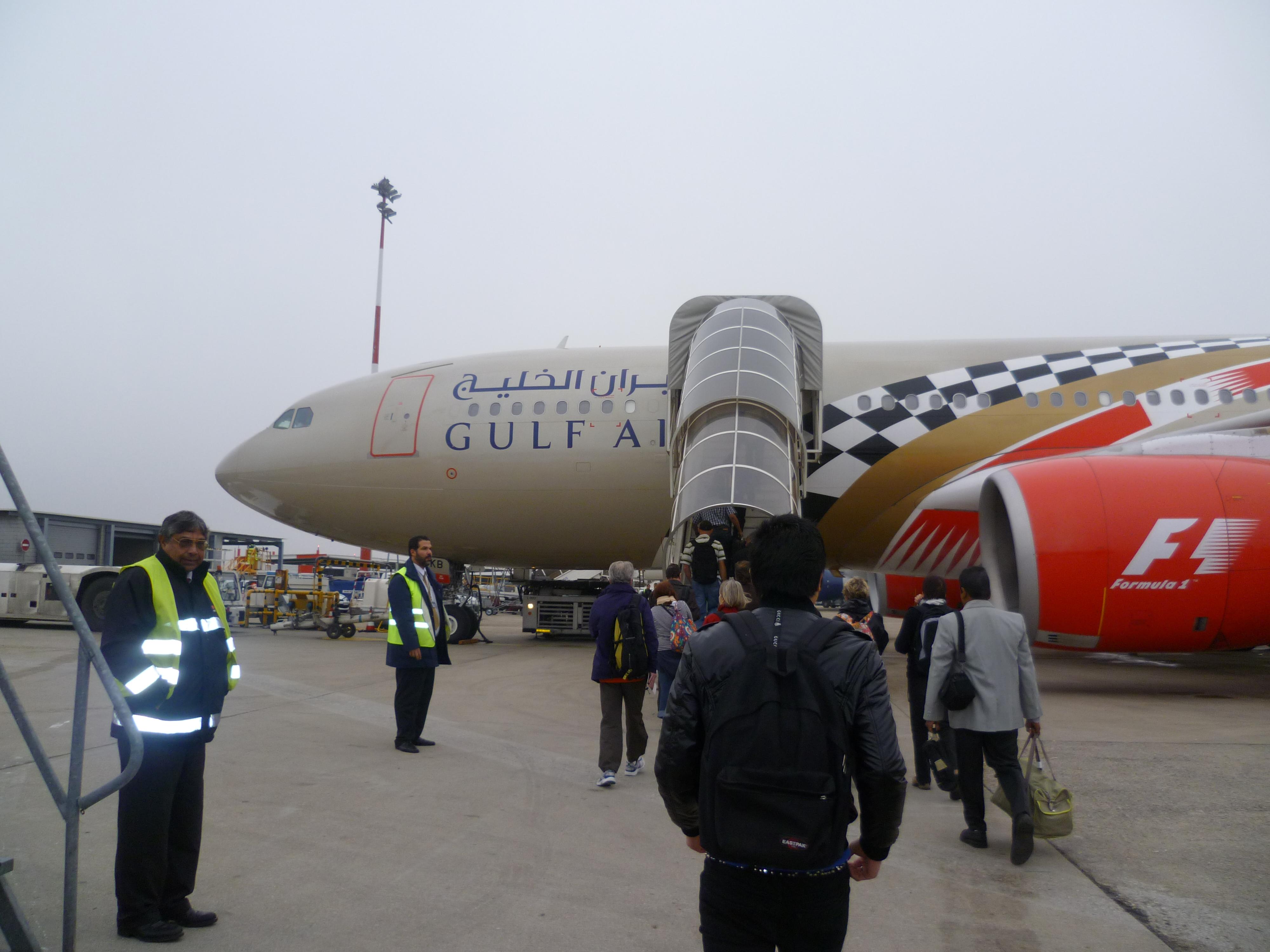 avion de la Gulf Air en 2011