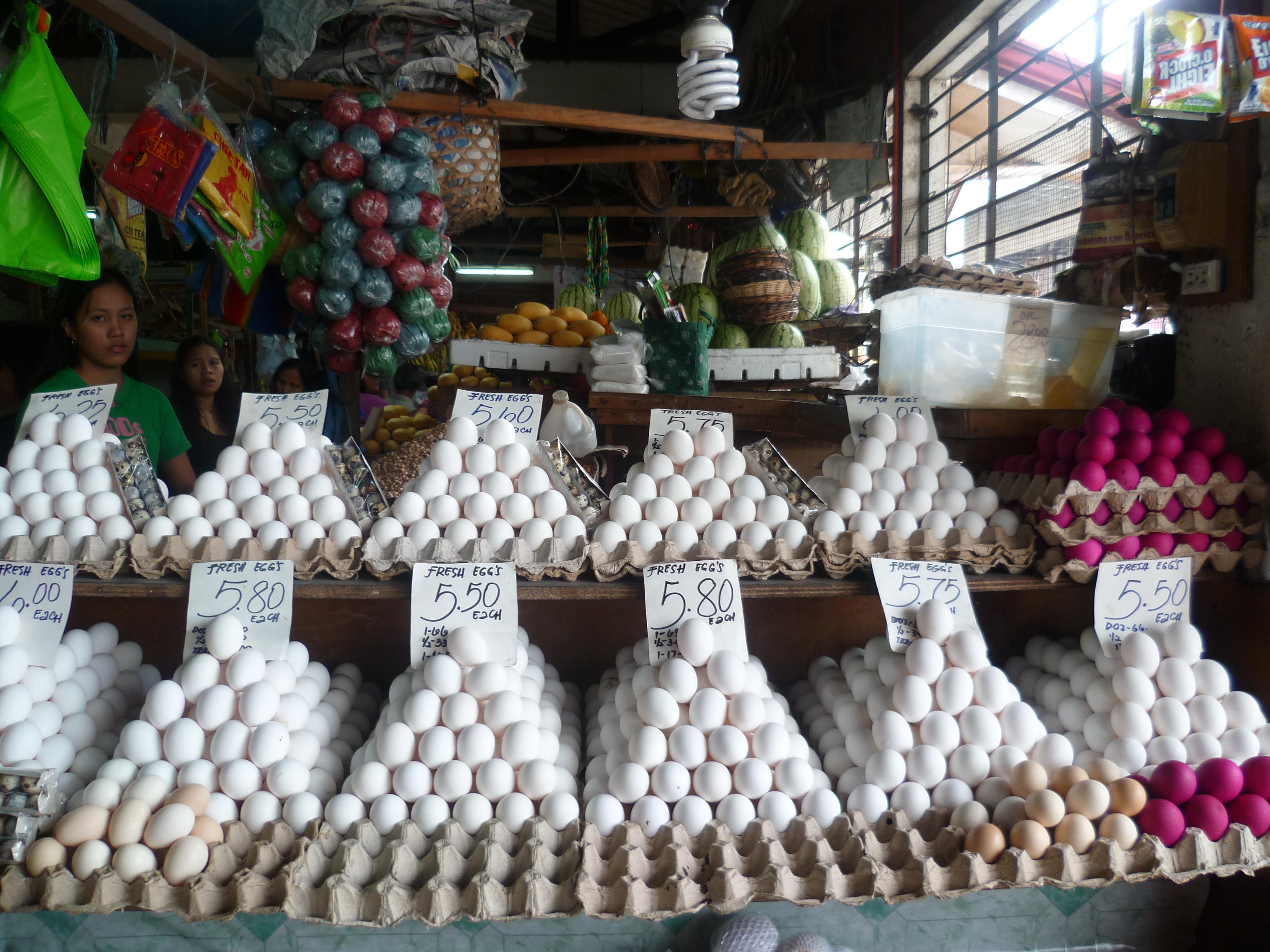 superbe marché central à Dumaguete