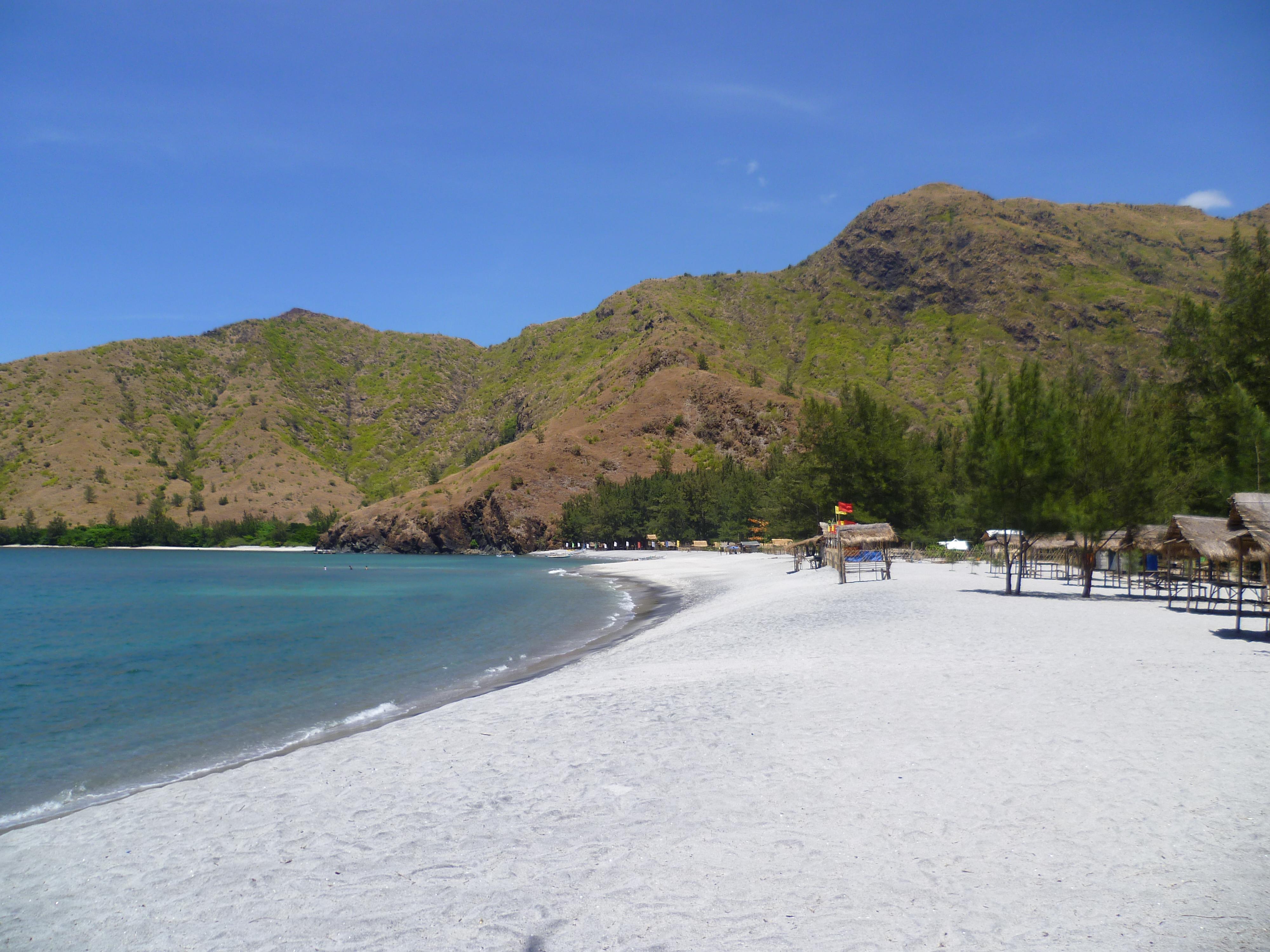 plage comme déserte: Anawanguin cove