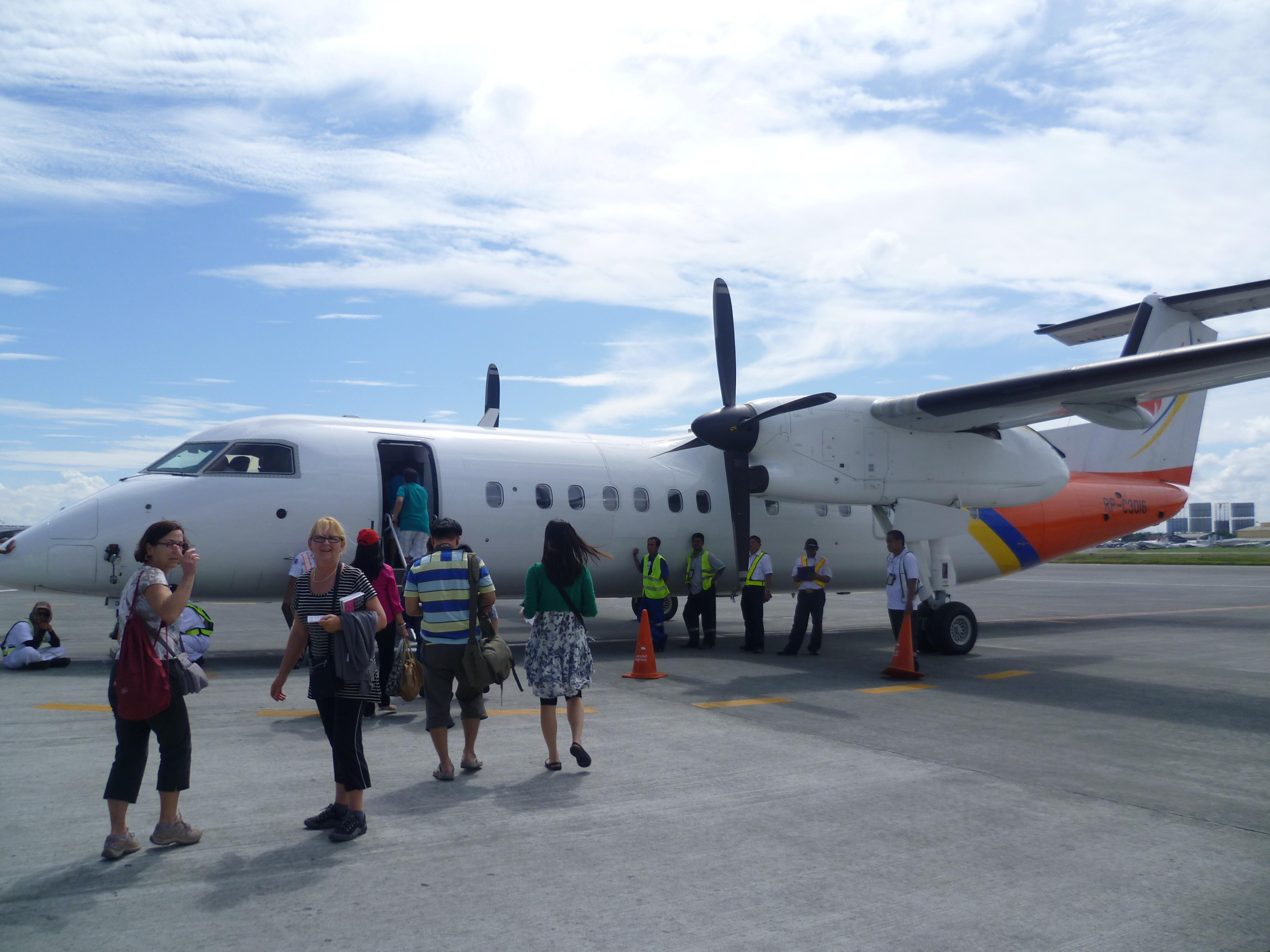 vol au départ de Manille