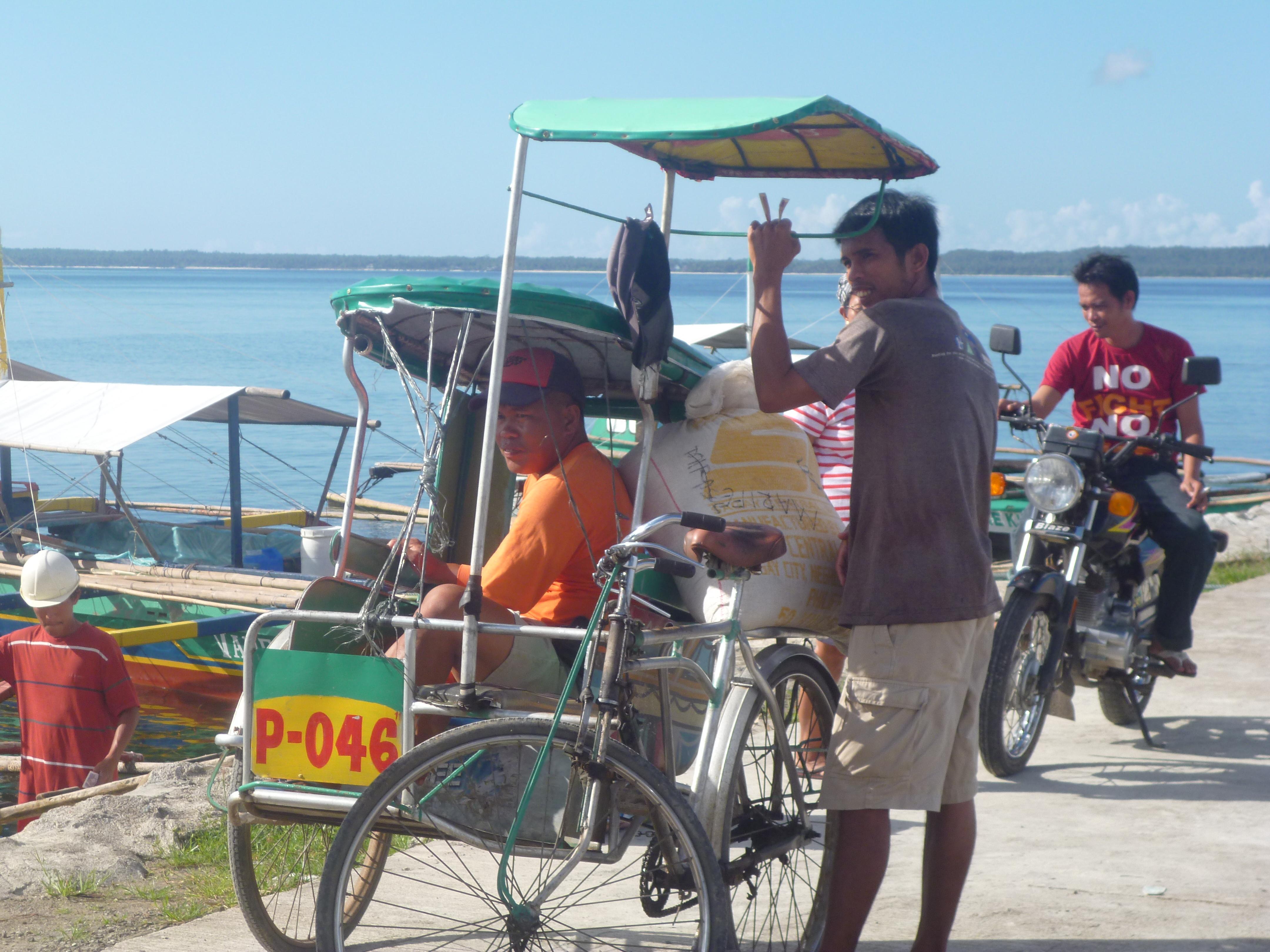 pédicab sur Samar
