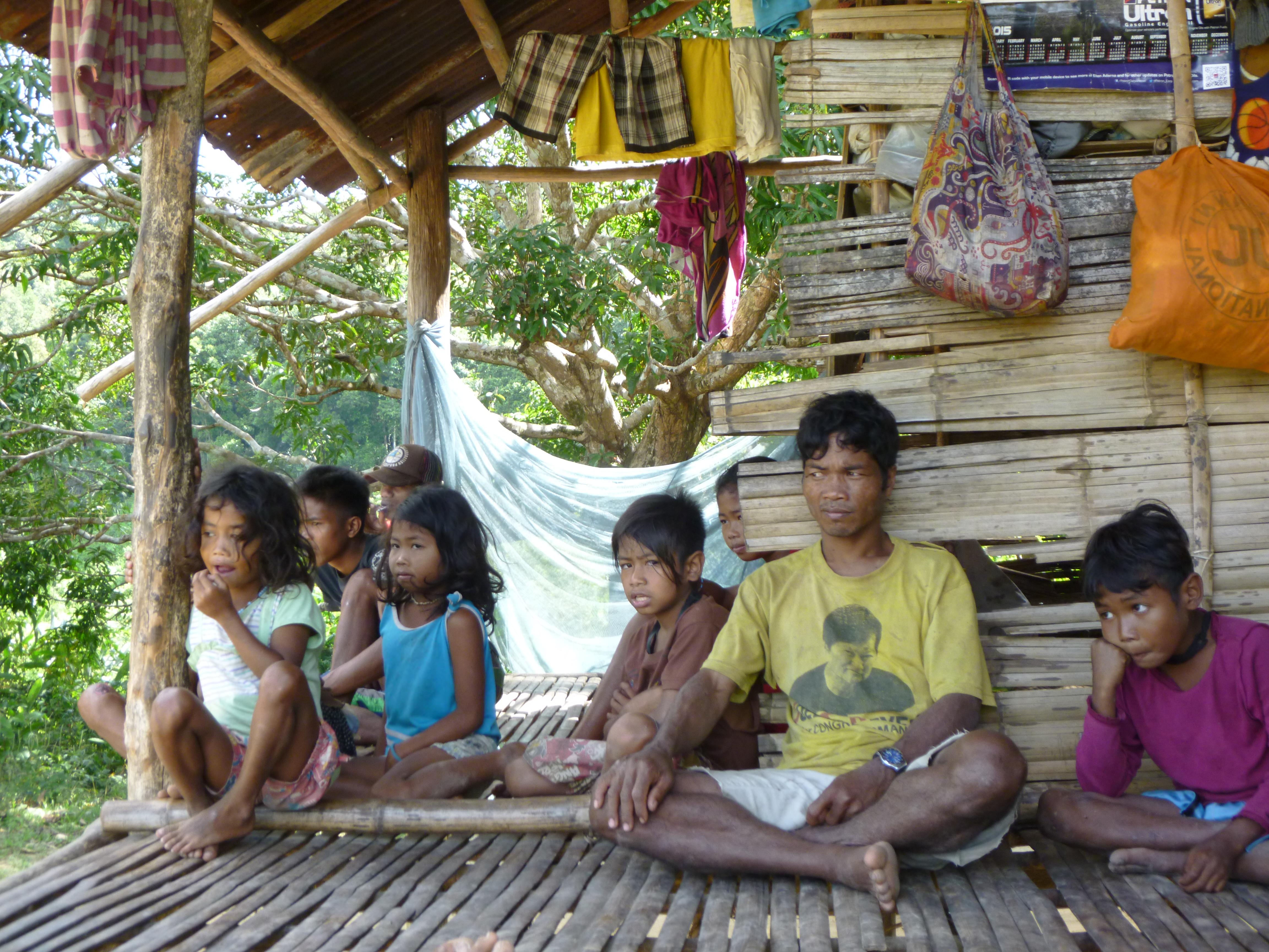 Batak, à droite le chef de tribu