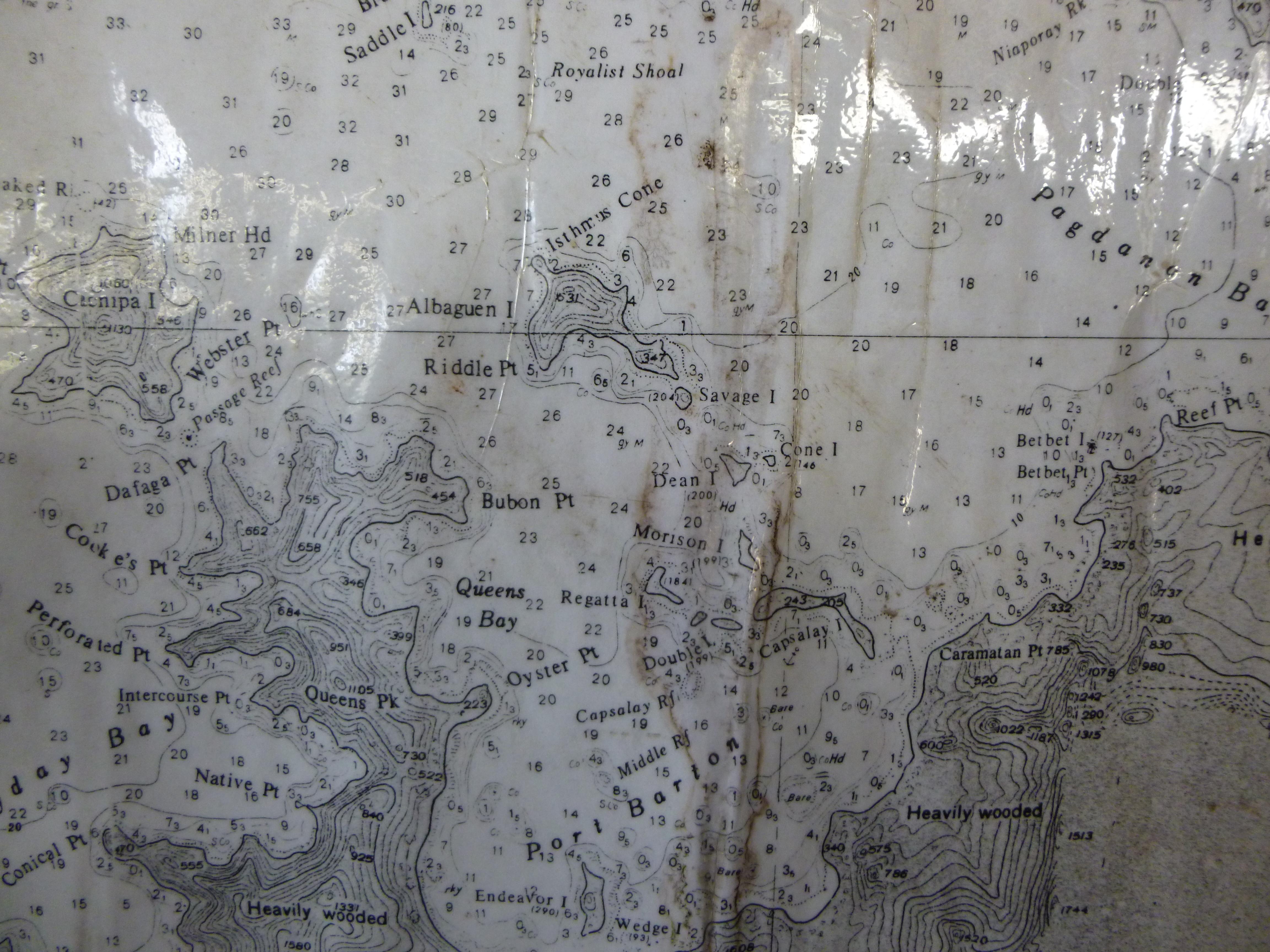 les îles au large de Port Bartonn