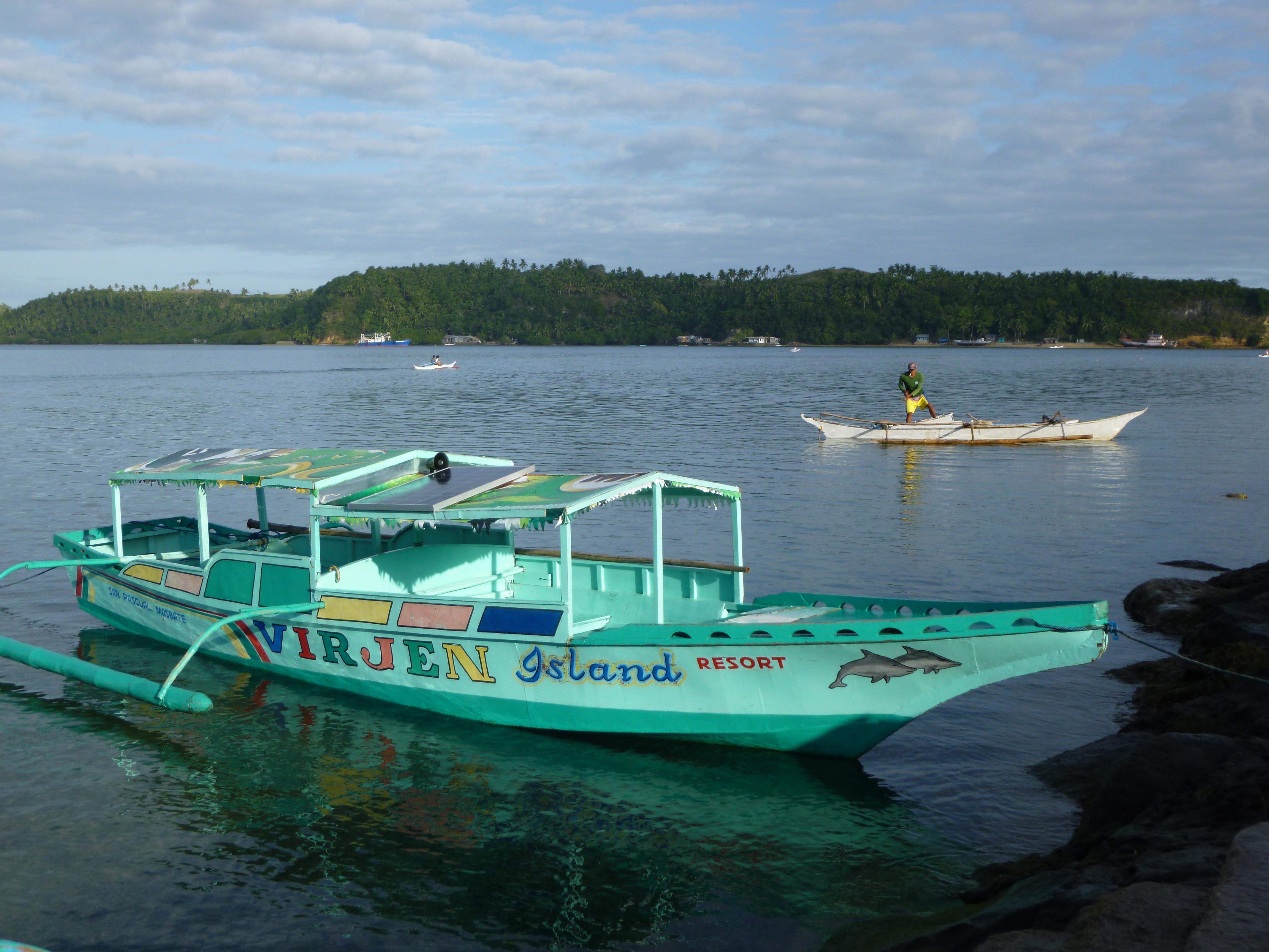 cette navette permet de traverser la baie en 10minutes et pour 20 centimes de pesos, pourquoi s'en priver?