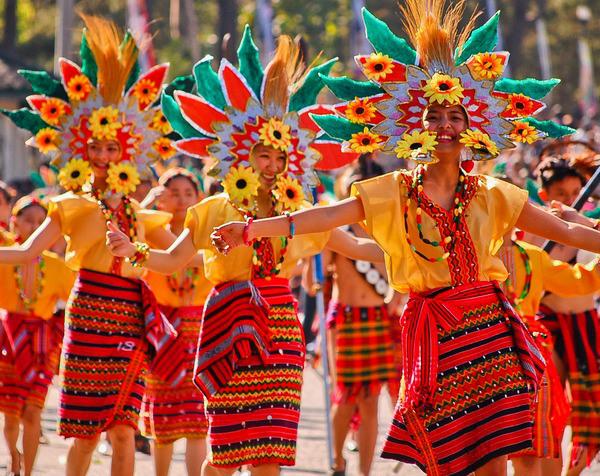 panagbenga festival, image empruntée.